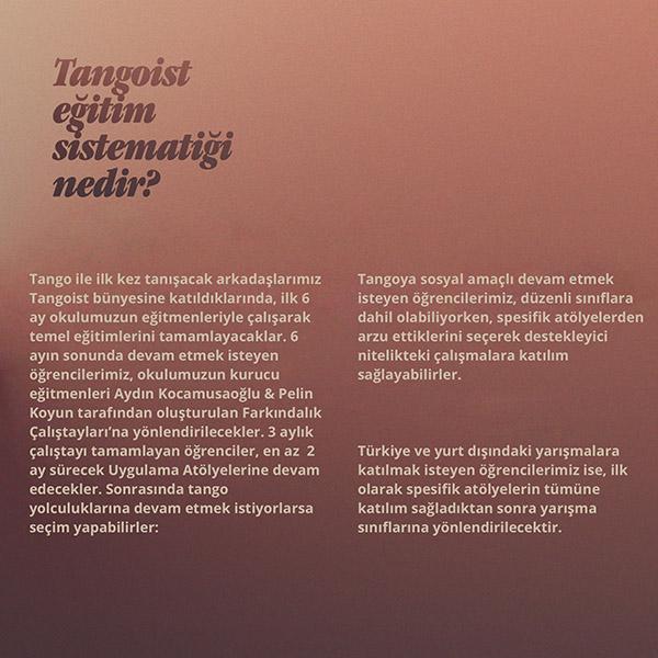 tangoist eğitim sistemi nedir